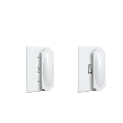 Magnetic Outlet Cover and Toggle Light Switch