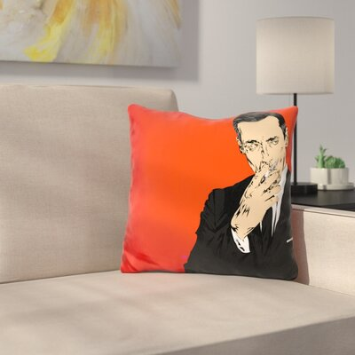 Don Drapper Throw Pillow