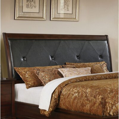 Hornback Upholstered Panel Headboard Size: King