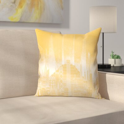 Sun Throw Pillow Size: 18 x 18