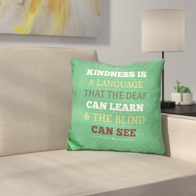 Rimmer Kindness Throw Pillow