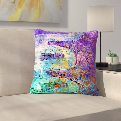 AlyZen Moonshadow Arcane 2 Outdoor Throw Pillow Size: 18 H x 18 W x 5 D