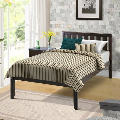 Newbill Twin Panel Bed Color: Espresso