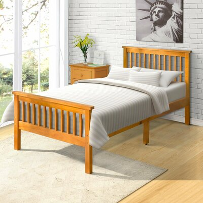 Eccleston Twin Platform Bed Color: Oak