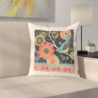 Omri Floral Woven Pillow Cover
