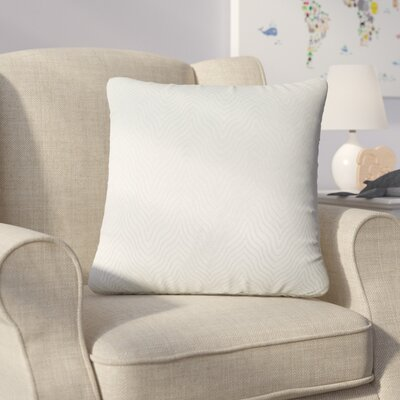 Bartle Solid Throw Pillow Color: Seagreen