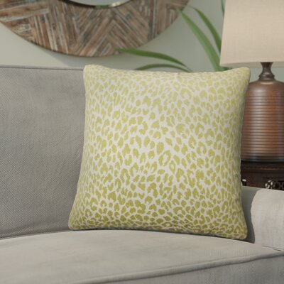 Willia Animal Print Throw Pillow Color: Kiwi