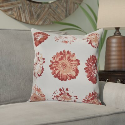 Willa Floral Outdoor Throw Pillow Size: 20