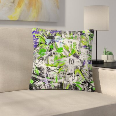Bruce Stanfield Life Through Adversity 2 Abstract Outdoor Throw Pillow Size: 18 H x 18 W x 5 D