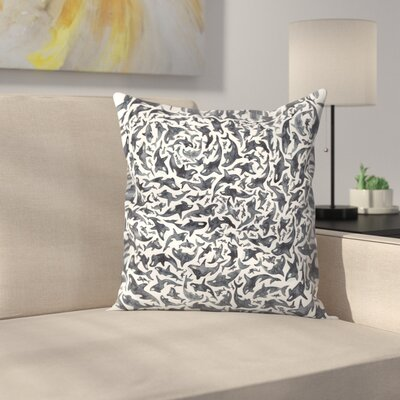 Elena ONeill Orcas Throw Pillow Size: 18 x 18
