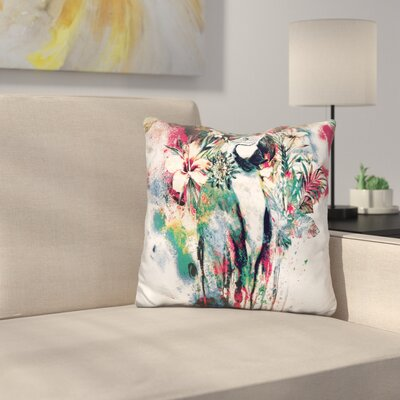 Interpretation of A Dream Parrot Throw Pillow