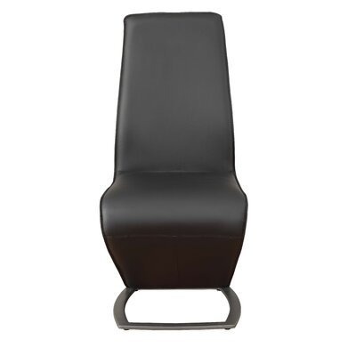 Demby Upholstered Dining Chair Upholstery: Black