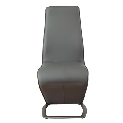 Demby Upholstered Dining Chair Upholstery: Gray