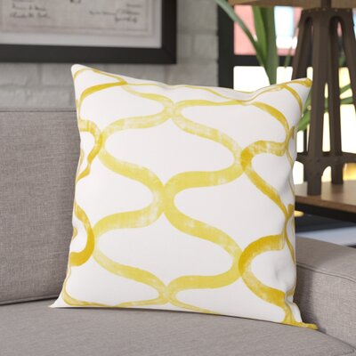 Balfour 100% Cotton Pillow Cover Color: Yellow