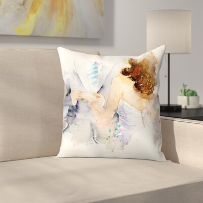 With This Ring Throw Pillow Size: 16 x 16