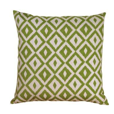 Hallman Toss Indoor/Outdoor Throw Pillow Color: Verde, Size: 24 x 24