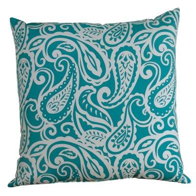Hambledon Paisley Toss Indoor/Outdoor Throw Pillow Size: 24 x 24