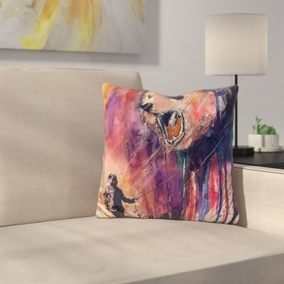 Out to Play Throw Pillow
