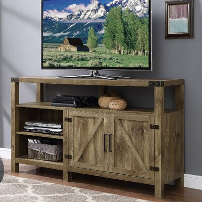 Heywood 58 TV Stand Color: Walnut