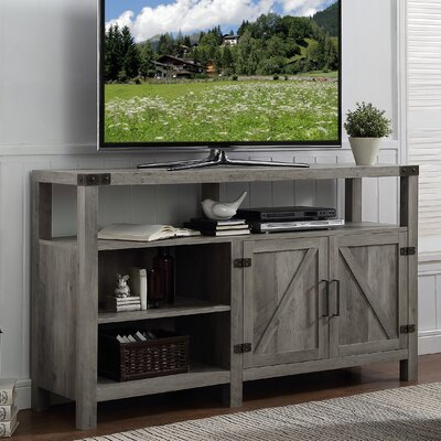 Heywood 58 TV Stand Color: Gray