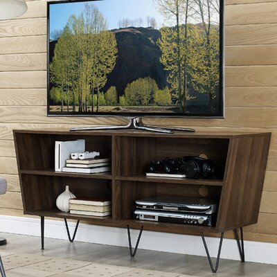 Choy 52 TV Stand Color: Walnut