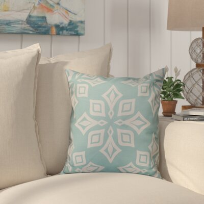 Cedarville Star Geometric Print Throw Pillow Size: 26 H x 26 W, Color: Teal