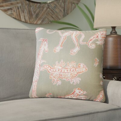 Wildhollow Graphic Cotton Throw Pillow Color: Watermelon