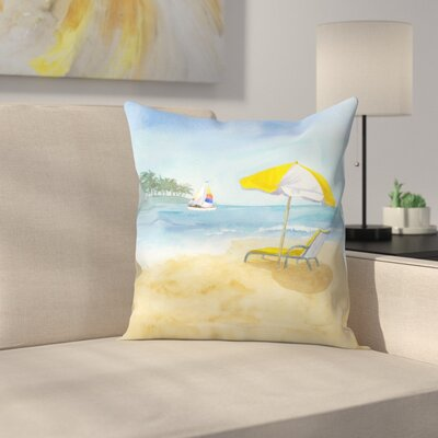 Lazy Days Throw Pillow Size: 16 x 16