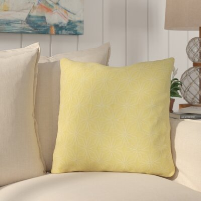 Chamberlin Quilted Throw Pillow Color: Yarrow