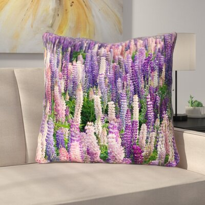 Joyeta Lavender Field Double Sided Print Euro Pillow