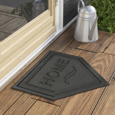 Engelmann Home Plate Doormat Color: Charcoal