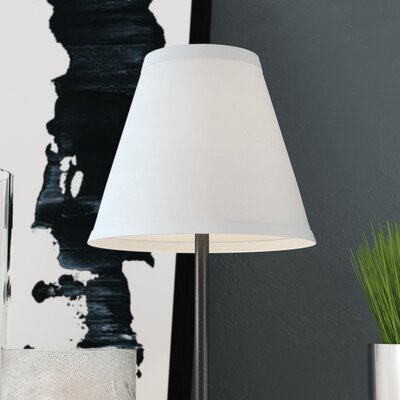 6 Satin Empire Lamp Shade Color: Off White