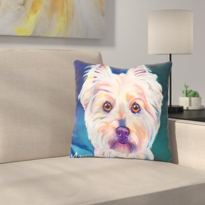 Westie Rockette Throw Pillow