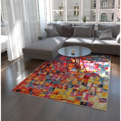 Marianne Area Rug Rug Size: Rectangle 6 x 9