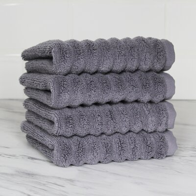 Ringgold Zero Twist Washcloth Color: Anthrac Gray