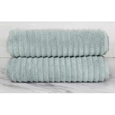 Ringgold Zero Twist Bath Towel Color: Clestia Blue