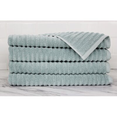 Ringgold Zero Twist Hand Towel Color: Clestia Blue