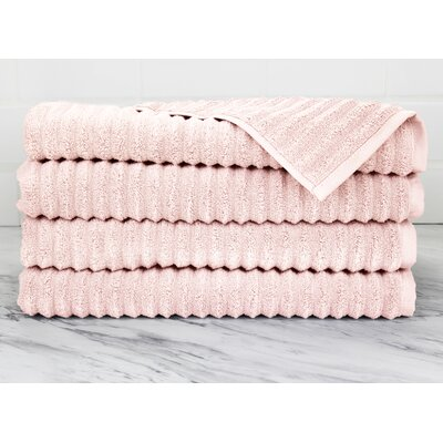 Ringgold Zero Twist Hand Towel Color: Smokin Pink