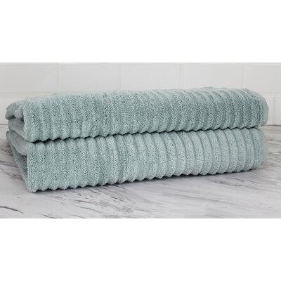 Ringgold Zero Twist Bath Sheet Color: Clestia Blue