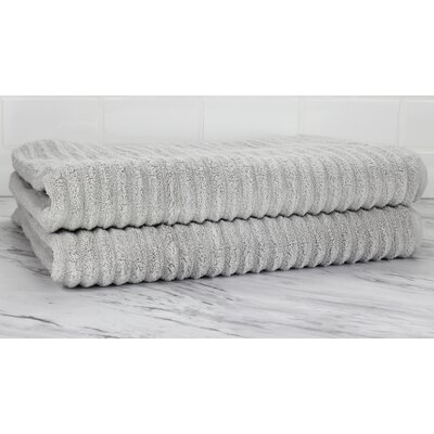 Ringgold Zero Twist Bath Sheet Color: Pebble Gray