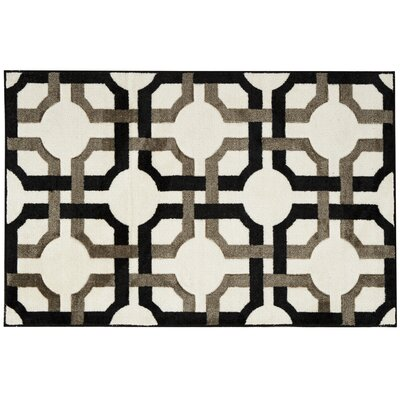 Great Expectation Black Area Rug