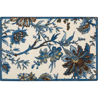 Great Expectation Indigo Area Rug Rug Size: Rectangle 2 x 3