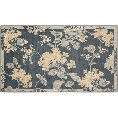 Great Expectation Gray Area Rug Rug Size: Rectangle 26 x 4