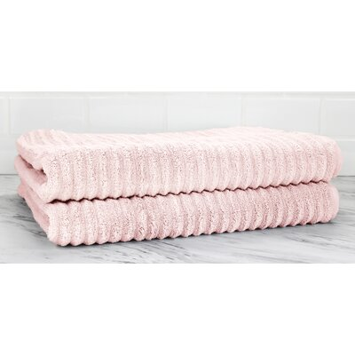 Ringgold Zero Twist Bath Sheet Color: Smokin Pink