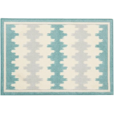 Great Expectation Light Teal Area Rug