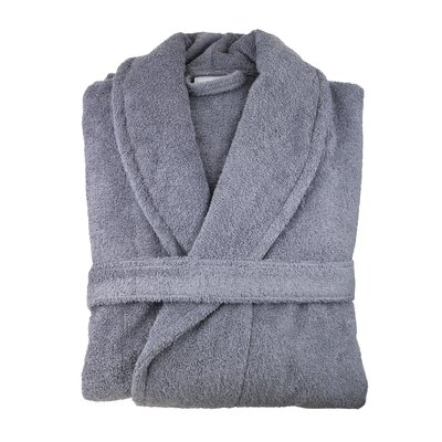 Hookton Zero Twist Bathrobe Color: Anthrac Gray