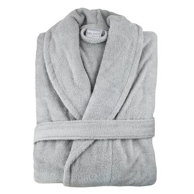 Hookton Zero Twist Bathrobe Color: Pebble Gray
