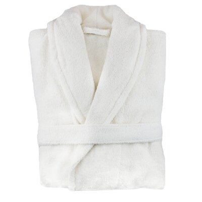 Hookton Zero Twist Bathrobe Color: White