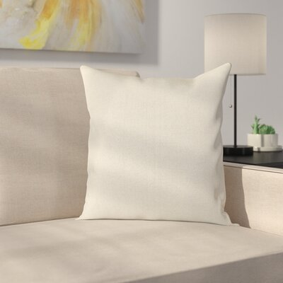 Ryele Outdoor Throw Pillow Color: Beige