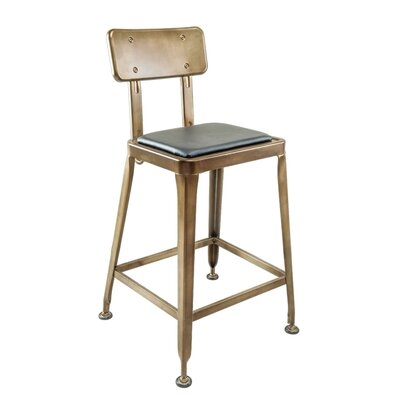 Devitt Industrial Bar Stool Seat Height: 30